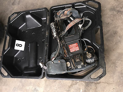 Lot 8 Scott Plus Air-Pak 4.5  Breathing Scba Harness Fire Fighter With Case