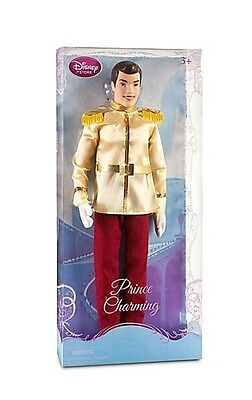 """NEW Disney Store Exclusive Cinderella's Prince Charming 12"""" Toy Doll Barbie"""