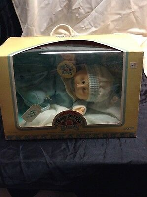 Cabbage Patch Kids Babies Doll Baby Powder Scented Boy 1986 Derwood Lester