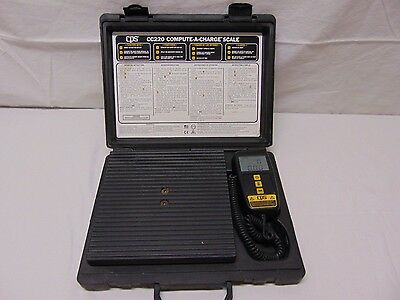 Cps Cc220 Compute-A-Charge Scale Digital Working Refrigerant High Capacity