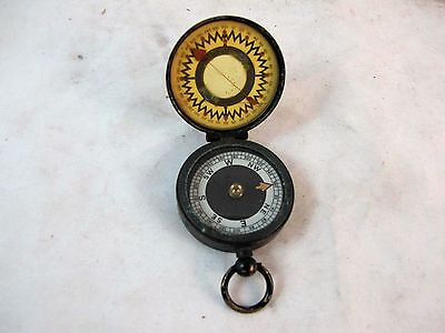Short & Mason Military Compass Marked The Magnapole, C1930'S