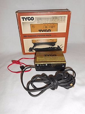Vtg BOXED TYCO HO ELECTRIC POWER PACK Model 899 Hobby Train Transformer & WIRE