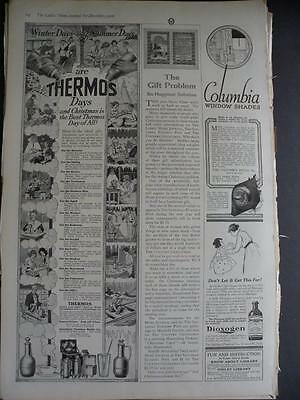 December, 1916 Magazine #s296- Thermos, Christmas Ad, American Thermos Bottle Co