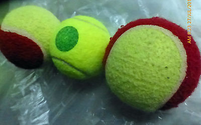Tennis balls for beginners training=lower pressure=easy to control