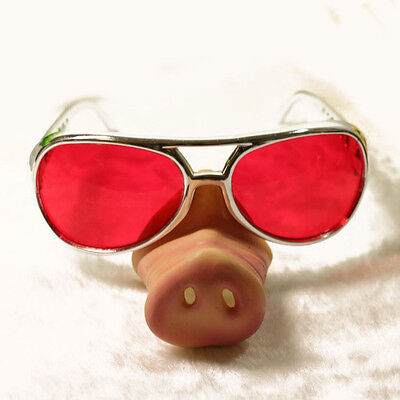 Pig nose glasses,eye-catching party glasses,novelty party glasses,funny glasses