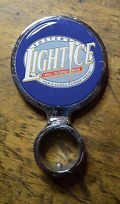 Foster's Light Ice Beer Tap Handle Metal Collectible