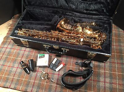 Cannonball 96 Excalibur Alto Sax Saxophone Used Very Nice Instrument