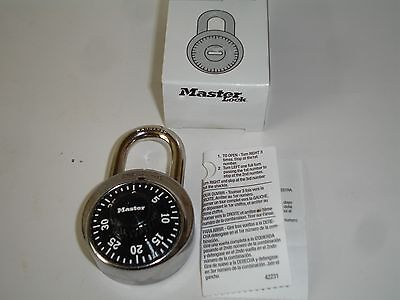 Lot Of 50 Master Lock 1525 Combination Padlock Stainless Steel New