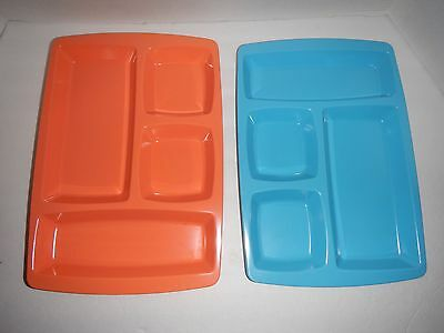 Cafeteria Trays Keywest Lot of 8