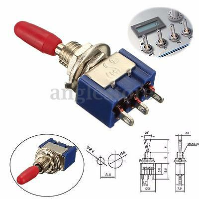 New Mini AC 6A 125V SPDT MTS-102 3-Pin 2 Position On-On Toggle Switch 2 Position