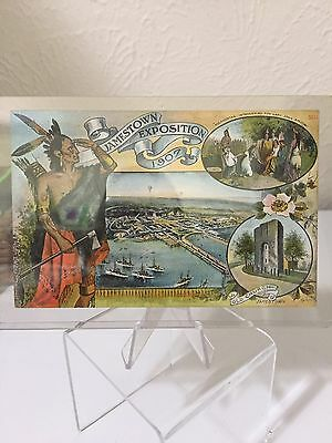 1907 Jamestown Exposition Post Card, Searles' Remedy