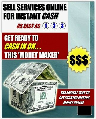 Create & Sell Services Online For Instant Cash~Videos Show You How~No Waiting!