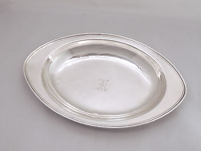 Rare WEIDLICH Sterling Oblong Bowl - Plate - Tray