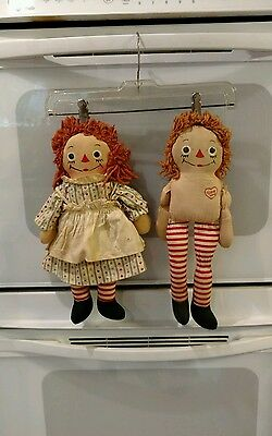 Vintage Raggedy Ann and Andy Dolls / Johnny Gruelle's Own