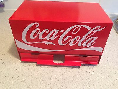 Red Coca-Cola Collectable Coke Straw Holder Dispenser-Brand New & Unopened Boxed