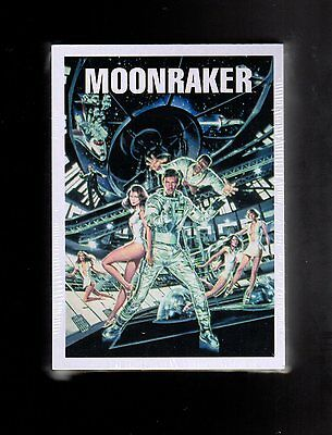 2016 James Bond Archives  Spectre Edition Moonraker Throwback card set