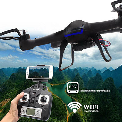 DM007W WIFI 6-Axis Gyroscope Real-time 2.4Ghz RC Quadcopter Drone with HD Camera