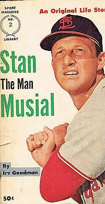 """Stan """"The Man"""" Musial Sport Magazine Book"""