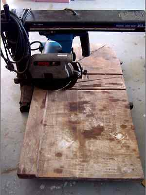 Ryobi Radial Arm Saw AND Router : 203mm