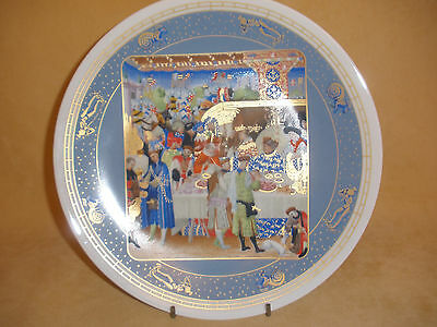 """Limoge's Ltd Ed & Numbered Collector Plate """"Javier"""" - by Jean Dutheil"""" in Box"""