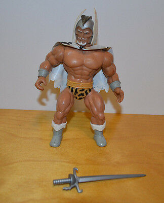 """Vintage Remco Lost World Of The Warlord Loose Action Figure 6"""" 1982"""