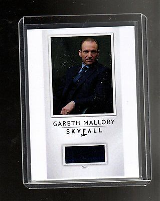 2016 James Bond Archives Spectre Edition Relic PR20 Mallory's Suit Skyfa 184/200