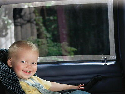 Sunshade UV Protect Baby Kid Car Seat Window Fit Vinyl Shade easily Cling Static