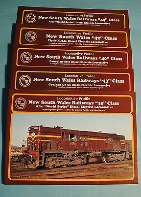 Train Hobby NSWR Diesel Books 40, 42, 43, 44 and 45 Classes