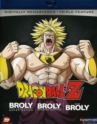 Dragon Ball Z: Broly Triple Feature [New Blu-ray] Edited