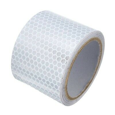 03Q4 5X3m Silver White Reflective Safety Warning Conspicuity Tape Sticker Film