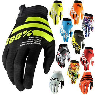 100% Prozent iTrack Handschuhe Clarino MTB DH MX Motocross Enduro Offroad Quad