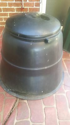 Compost bin. Great for all those kitchen scraps
