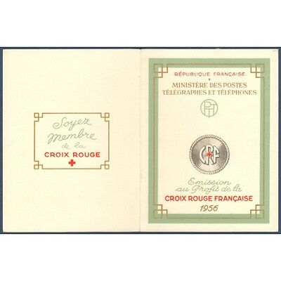 CARNET CROIX-ROUGE N°2005 TIMBRES NEUFS** 1956 (superbe)