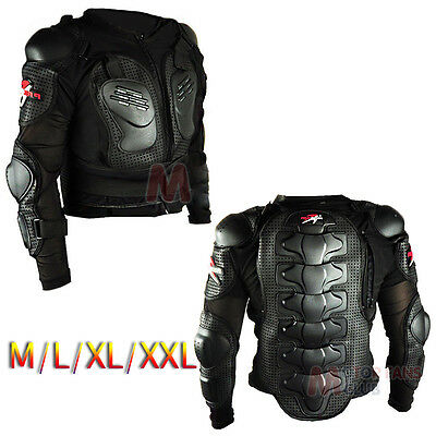 Motocross Dirt Bike Body Armour Jacket Body Full Armour Chest Protective Gear
