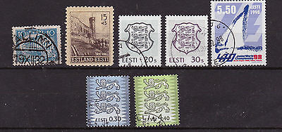 Estonia 1932 onwards - mostly used