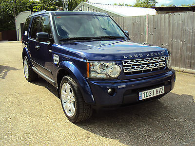 2011 LAND ROVER DISCOVERY 4 XS AUTO BLUE 3.0Ltr LHD SPANISH REG.7 SEATS