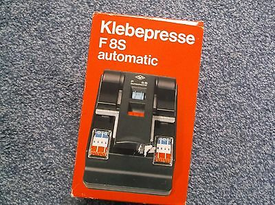 Agfa Klebepresse F8S Auto Tape Splicer With Spare Tapes