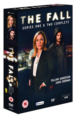 The Fall: Series 1 and 2 DVD (2016) Gillian Anderson cert 15 4 discs Great Value