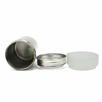 2x(823Q4 Stainless Chocolate Shaker Icing Sugar Salt Cocoa Flour Coffee Sifter)
