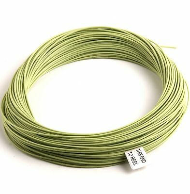 Weight Forward Fly Fishing Line 4F-WF Floating Trout Freshwater GREEN 100ft