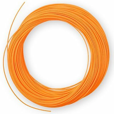Weight Forward Fly Fishing Line 5F-WF Floating Trout Freshwater ORANGE 100ft