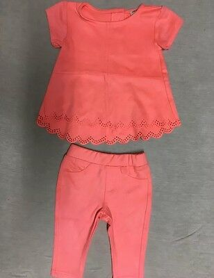 Velvet Top And Legging Set River Island Minis Girls 0-3 Mounts
