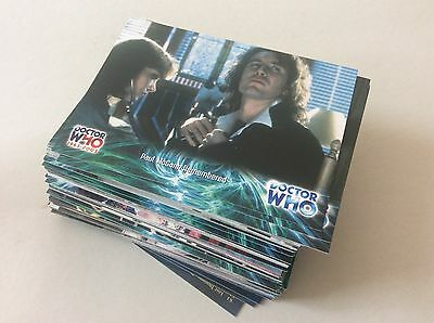 Strictly Ink 2003 Dr Doctor Who 40th Anniversary Full Basic Card Set 100 Cards