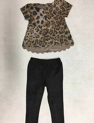 Velvet Top And Legging Set River Island Minis Girls 12-18 Mounts