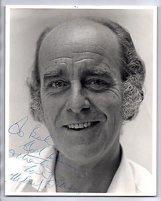 """Rare MICHAEL ROBBINS (ON THE BUSES) signed 8"""" x 10"""" photograph"""