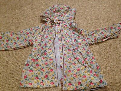 Girls Next Floral Light Weight Rain Coat Age 3