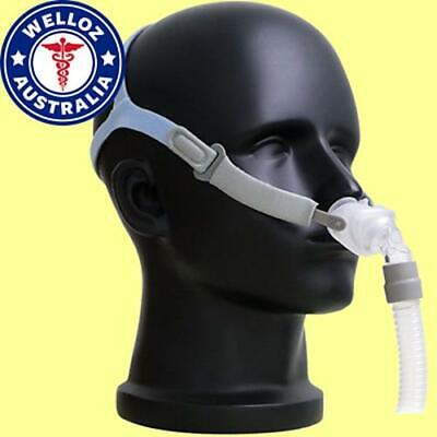 Nasal Pillow CPAP Mask for Sleep Apnea / Snoring | 3 Sizes inc. | Fits All CPAP