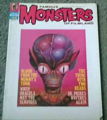 famous monsters of filmland #98,may 1973,high grade vf,bagged & boarded