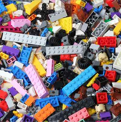 New Lego 1kg Assorted Bricks Parts and Pieces - Starter Set - Bulk Clean