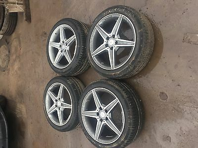 Genuine Mercedes C Class W205 Alloy Wheels And Tyres